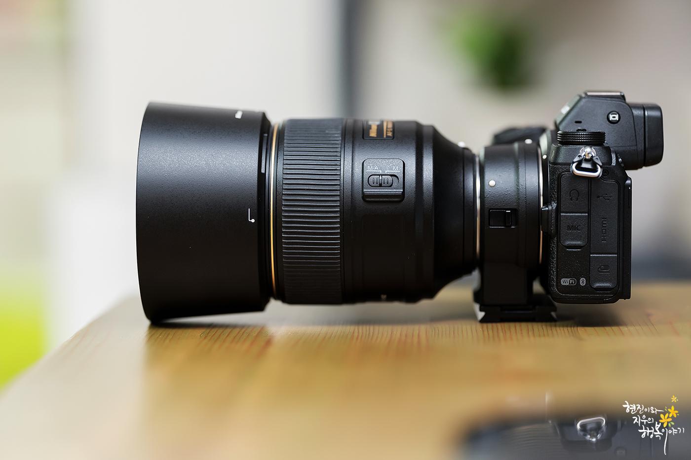 Z7 + FTZ + AF-S NIKKOR 105mm f/1.4E ED 사진