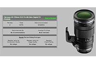 �ø�Ǫ�� ED40-150mm F2.8 PRO�� ����� ȭ���� ���� ..