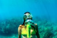 물 속에서 10분간 편하고 자유롭게 있고 싶다면?