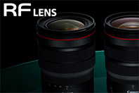 캐논이 2021년까지 발표할 RF 렌즈 목록