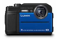 파나소닉, EVF 탑재 방수 카메라 Lumix TS7 (FT7) 발..