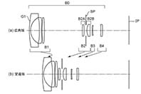 캐논, APS-C RF용 줌 렌즈 4종 특허