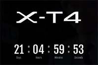후지필름 X-T4, 2월 26일 발표를 예고