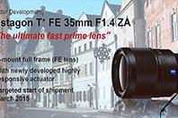 �Ҵ�, FE 35.4 / FE 90 macro / FE 24-240 / FE 28 ���� �ε�� �߰�.