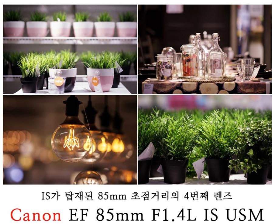 [EF 85mm F1.4L IS USM 리뷰_2] IS가 탑재된 85mm 초점거리의 4번째 렌즈 'EF 85mm F1.4L IS USM'